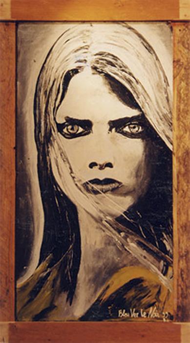 Peinture-Portrait-féminin-by-BvLn-1999-